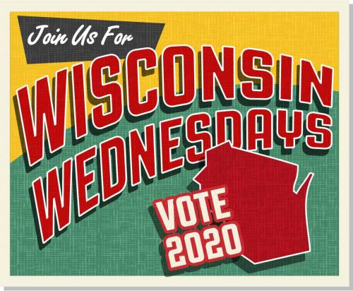 Wisconsin phone banking happens every Wednesday