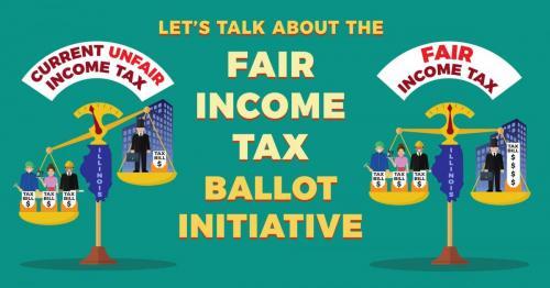 Discussion of Illinois' fair income tax ballot initiative