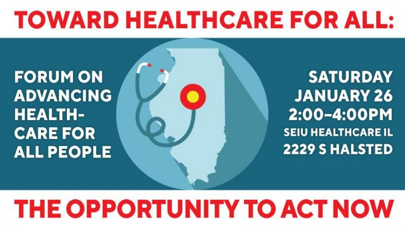 Health care forum announcement
