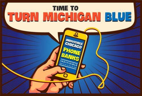 Michigan phone-banking 2020